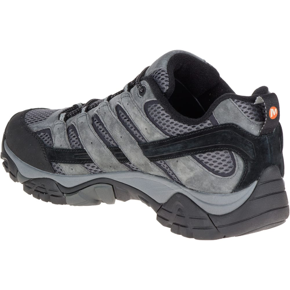 MERRELL Men's Moab 2 Waterproof Hiking Shoes, Granite - GRANITE