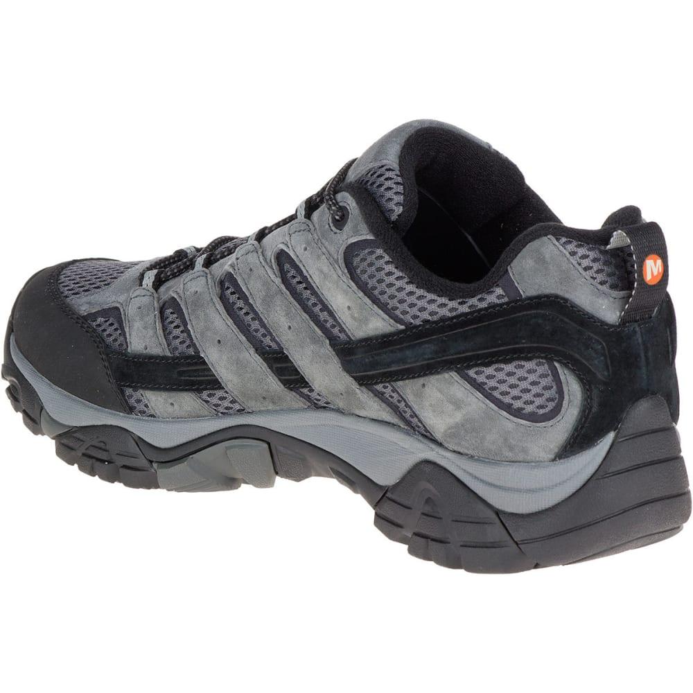 a1ed3a09 MERRELL Men's Moab 2 Waterproof Hiking Shoes, Granite, Wide