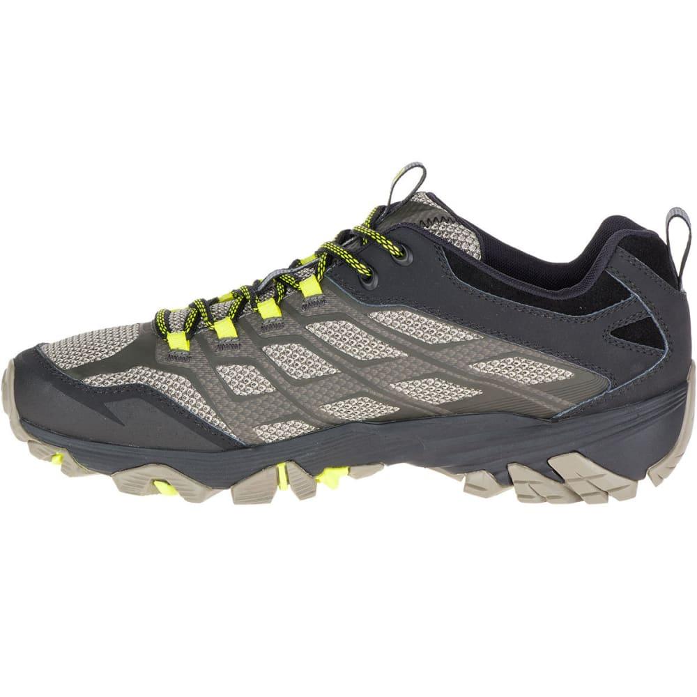 MERRELL Men's Moab FST Hiking Shoes, Olive Black - OLIVE BLACK