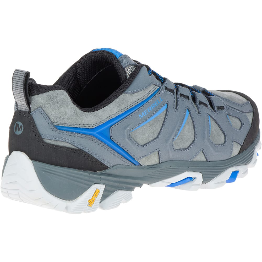 MERRELL Men's Moab FST Leather Hiking Shoes, Turbulence - TURBULENCE