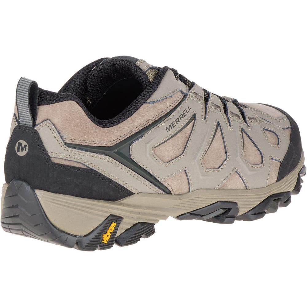 MERRELL Men's Moab FST Leather Hiking Shoes, Boulder, Wide - BOLDER