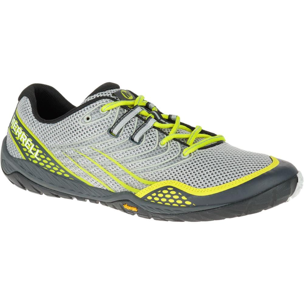 MERRELL Men's Trail Glove 3 Trail Running Shoes, Sleet - SLEET
