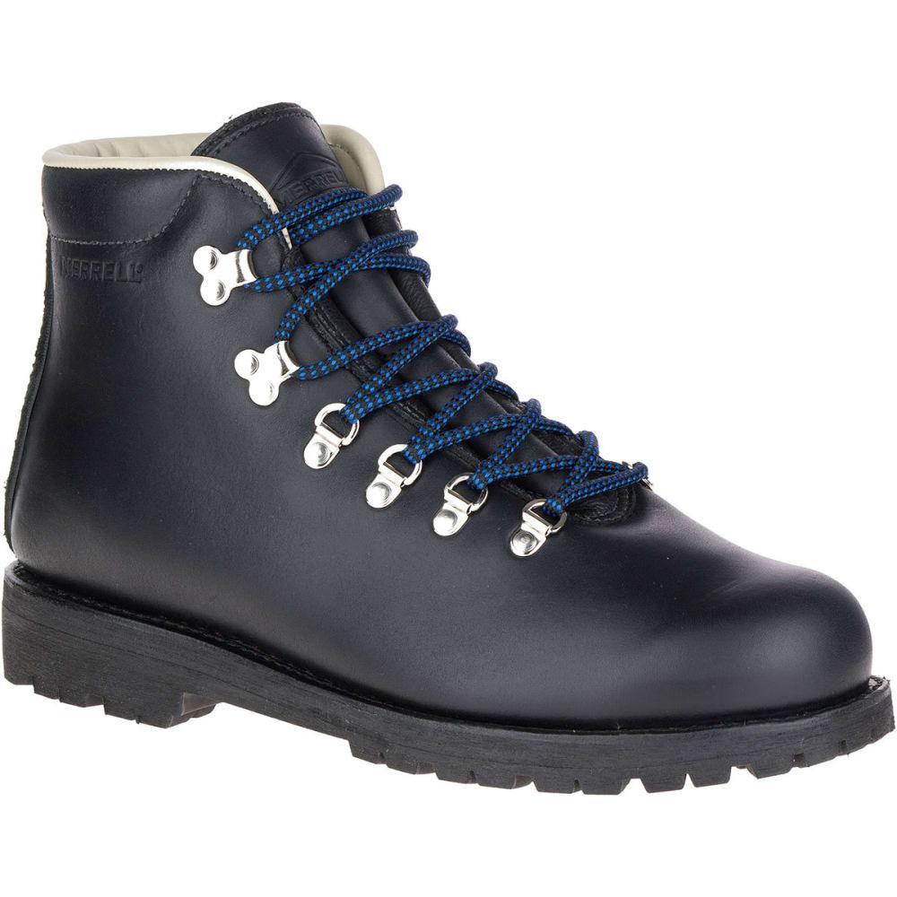 MERRELL Men's Wilderness Waterproof Hiking Boots, Black 10