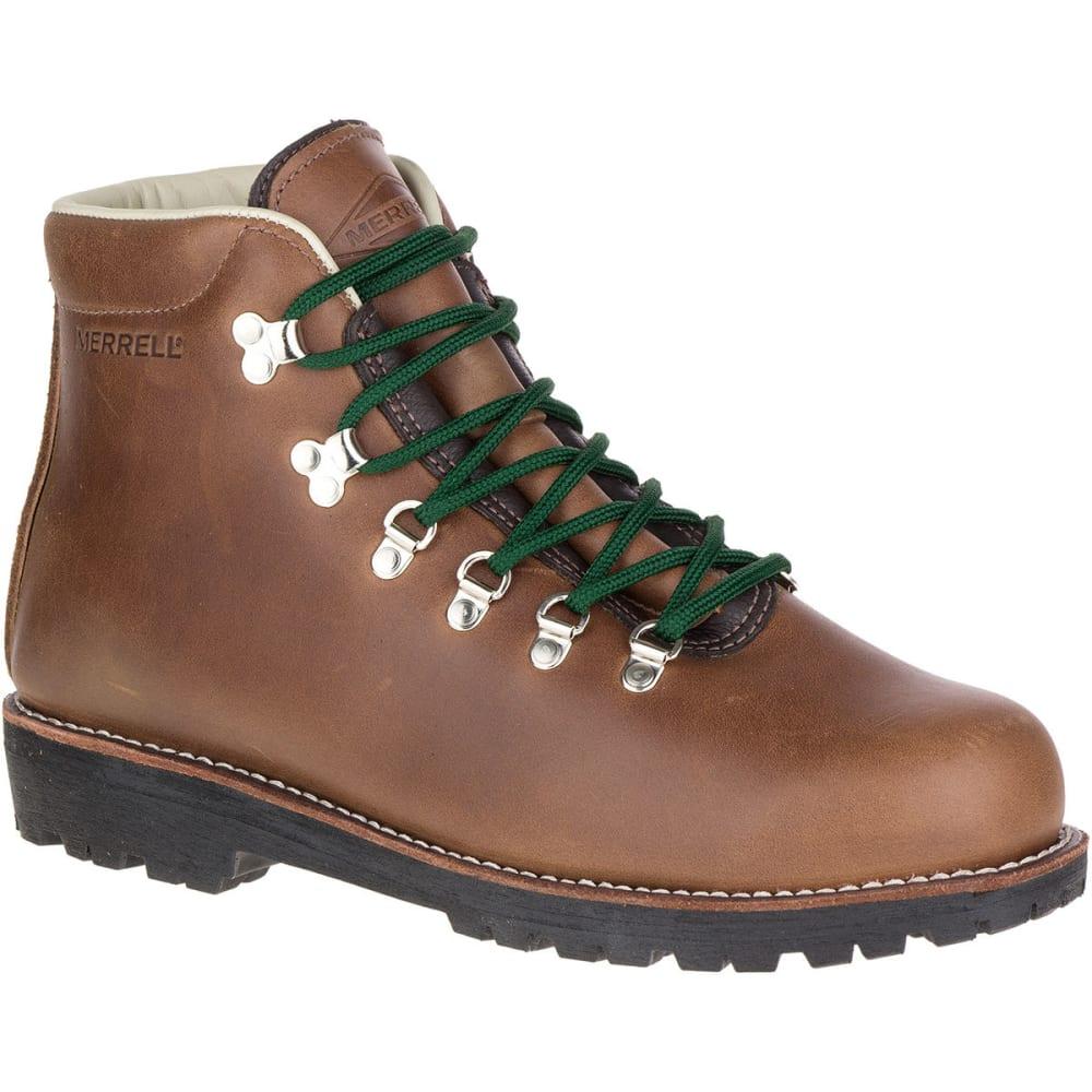 MERRELL Men's Wilderness Hiking Boots, Mogano - MOGANO
