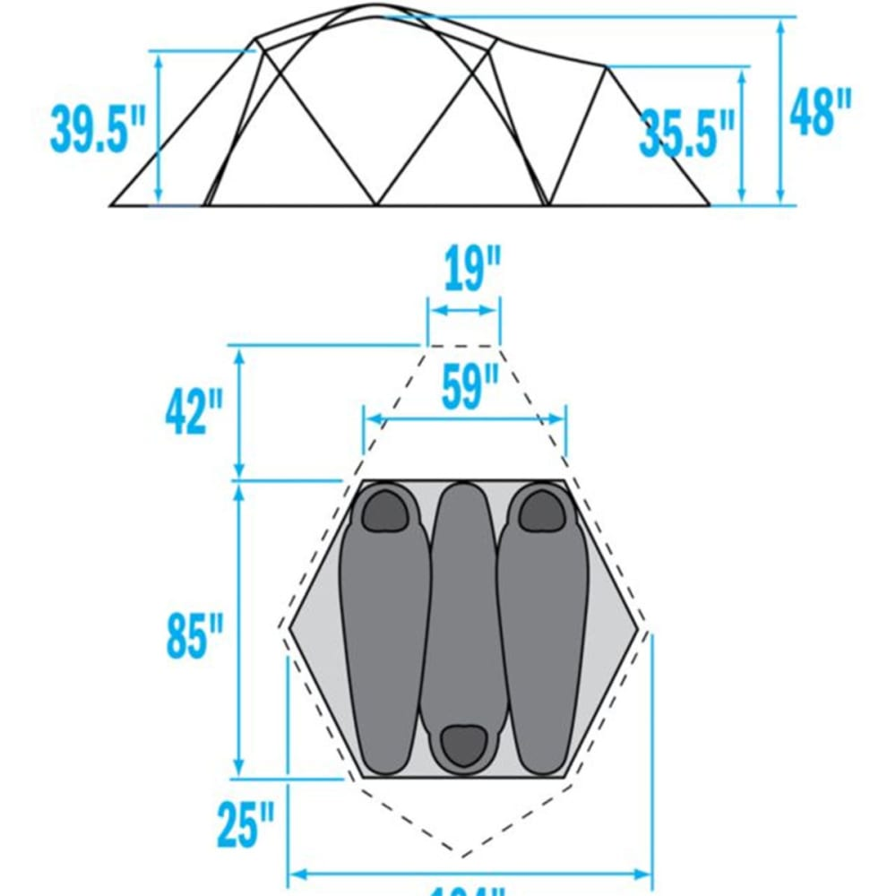 ... THE NORTH FACE VE 25 Tent - SUMMIT GOLD/GREY  sc 1 st  Eastern Mountain Sports & THE NORTH FACE VE 25 Tent - Eastern Mountain Sports