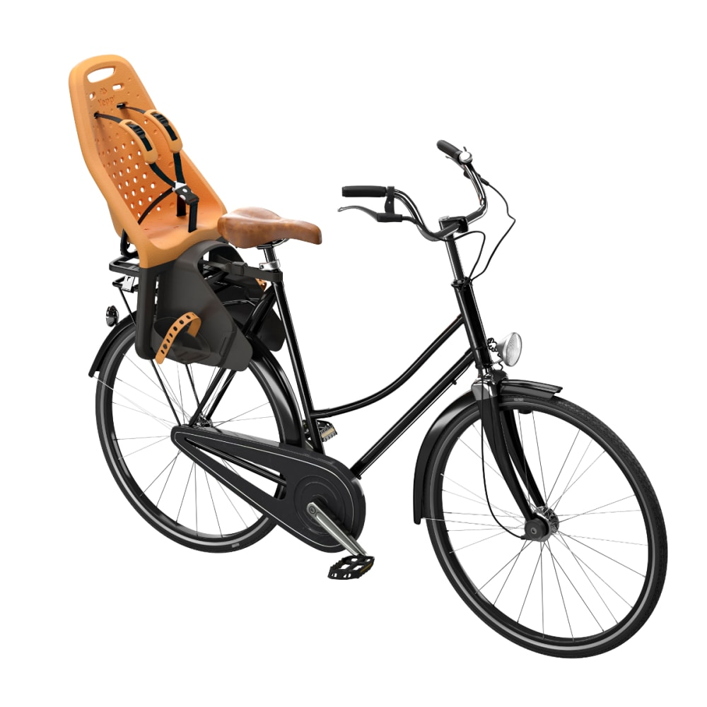 THULE YEPP Maxi Child Bike Seat, Easyfit, Orange - ORANGE
