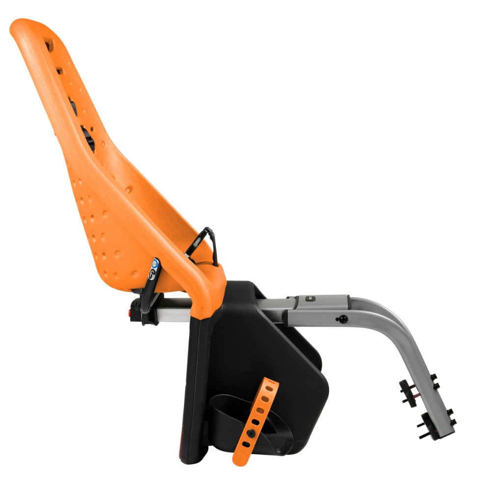 THULE YEPP Maxi Child Bike Seat, Seat Post, Orange - ORANGE