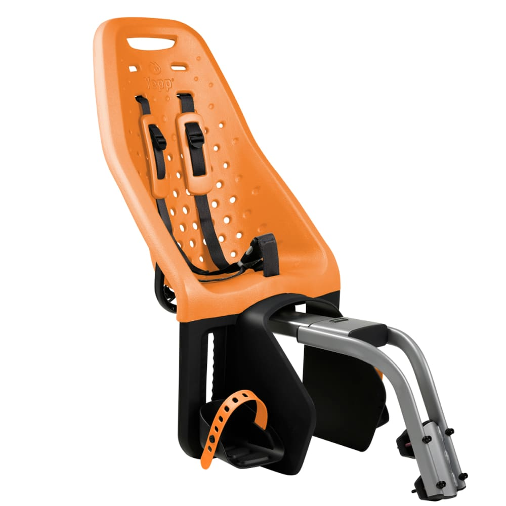 THULE YEPP Maxi Child Bike Seat, Seat Post, Orange - ORANGE