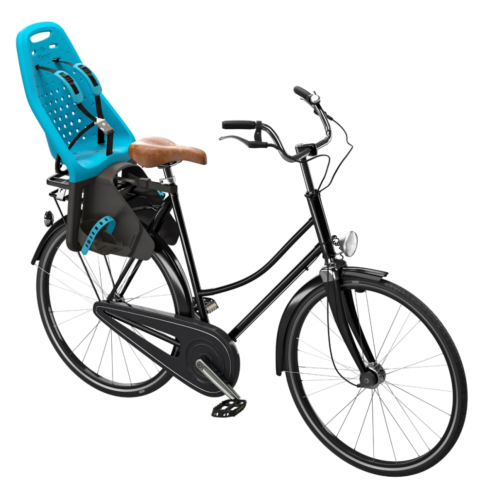 THULE YEPP Maxi Child Bike Seat, Seat Post, Ocean - OCEAN