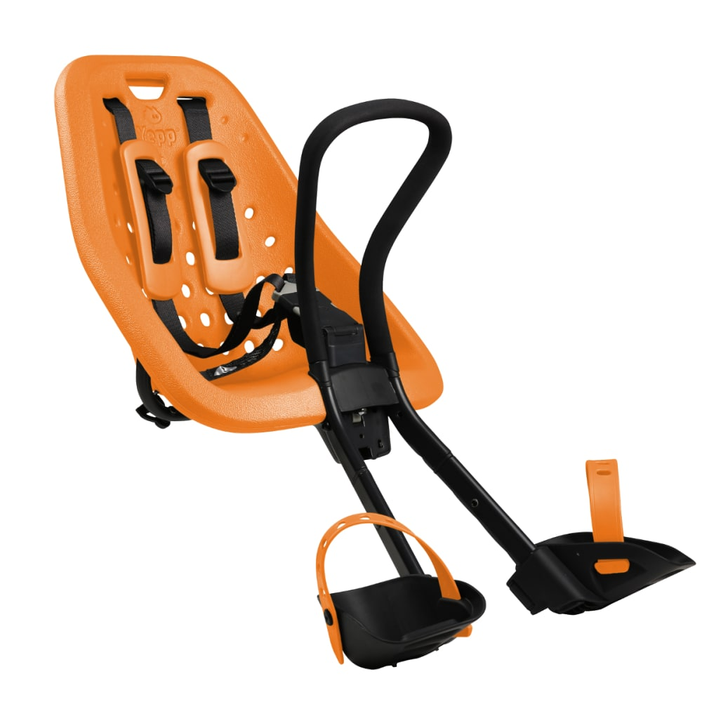 THULE YEPP Mini Child Bike Seat, Orange - ORANGE