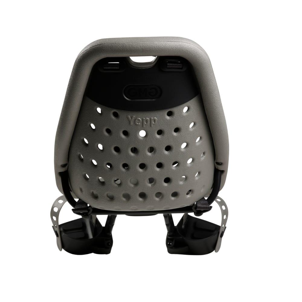 THULE YEPP Mini Child Bike Seat, Silver - SILVER