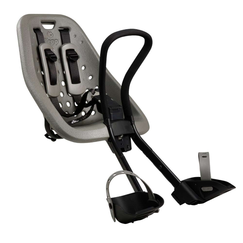 THULE YEPP Mini Child Bike Seat, Silver - SILVER