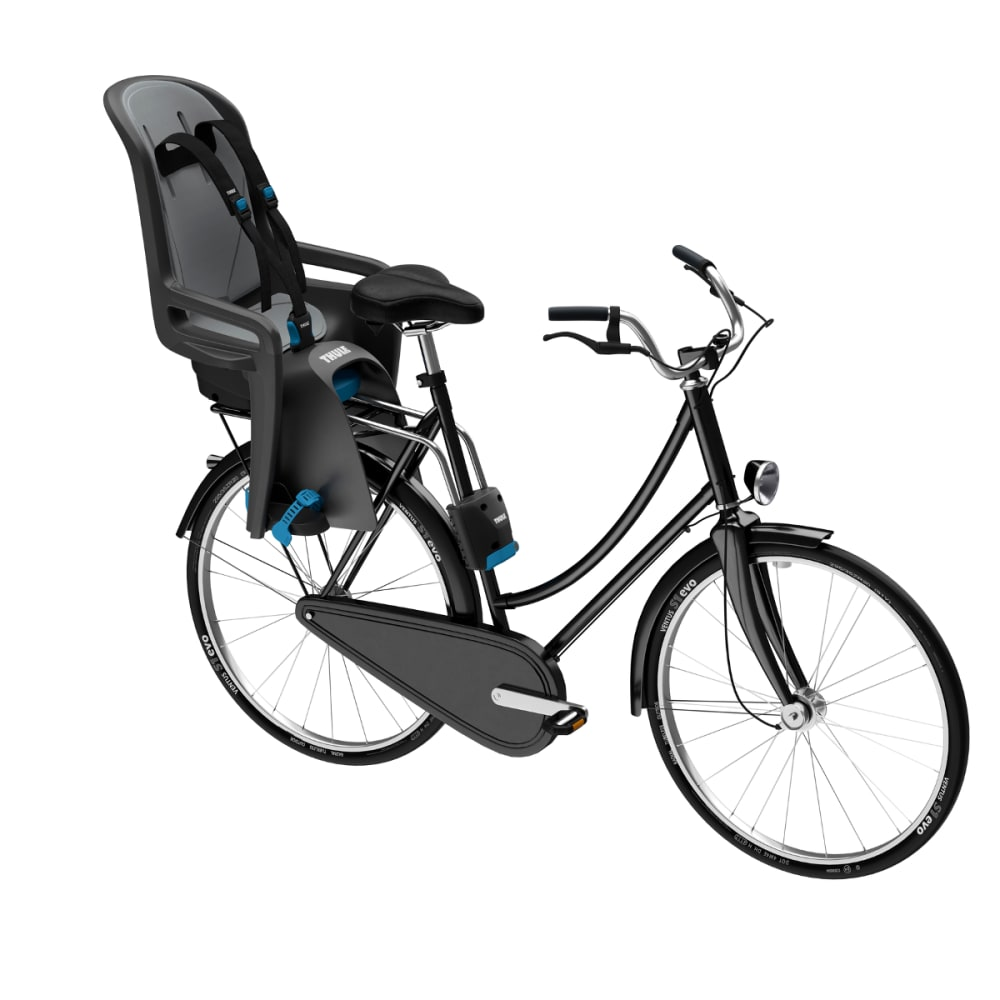 THULE Ridealong Child Bike Seat, Dark Grey - DARK GREY