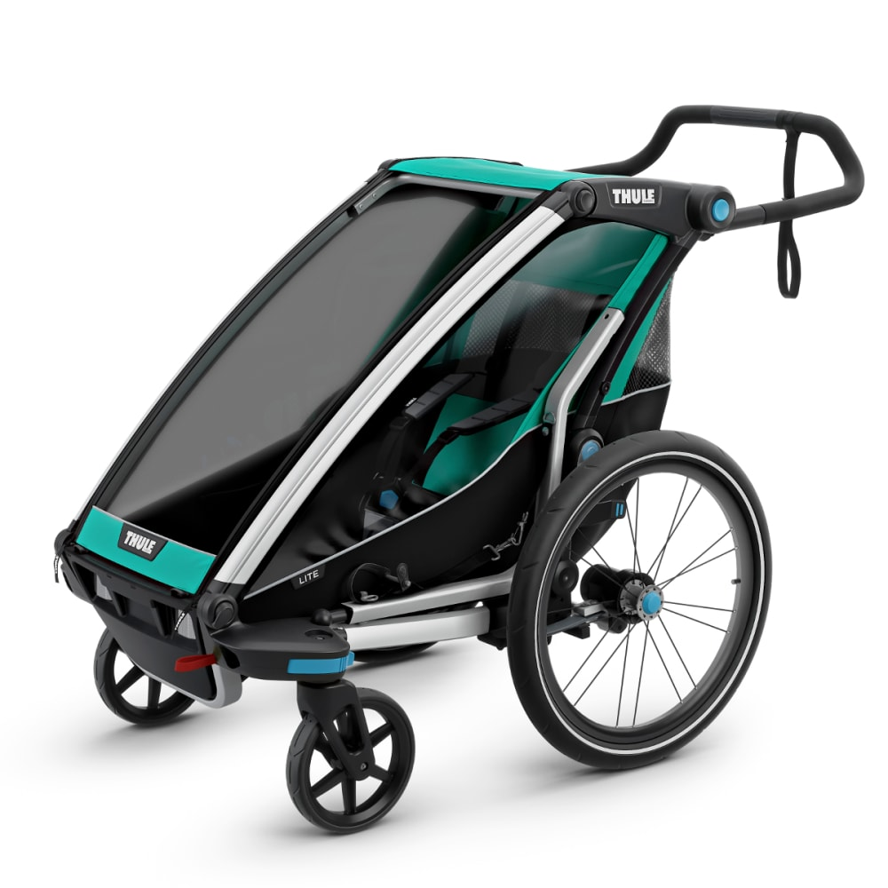 THULE Chariot Lite Jogging Stroller - BLUEGRASS