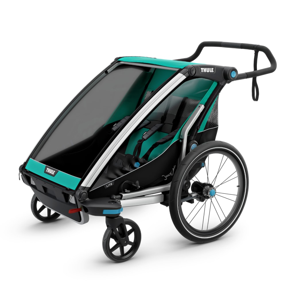 THULE Chariot Lite 2 Jogging Stroller - BLUEGRASS
