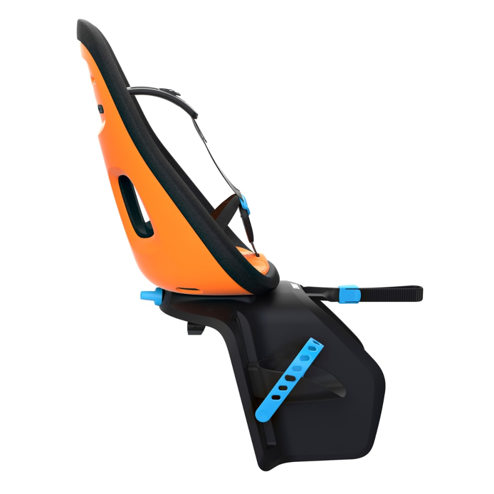 THULE Yepp Nexxt Maxi Child Bike Seat, Vibrant Orange - VIBRANT ORANGE