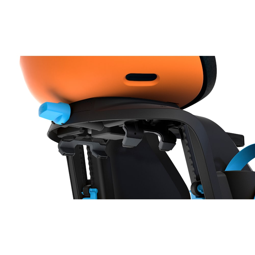 THULE Yepp Nexxt Maxi Child Bike Seat, Vibrant Orange - VIBRANT ORANGE