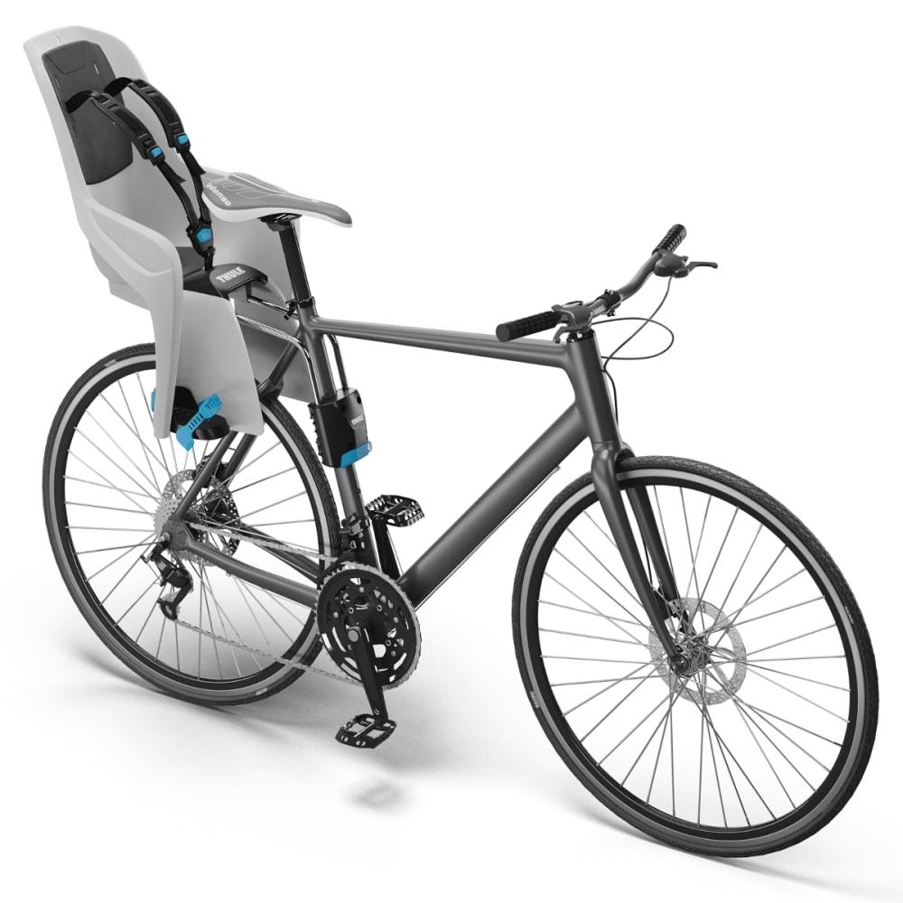 2153e549563 THULE Ridealong Child Bike Seat, Light Grey - Eastern Mountain Sports