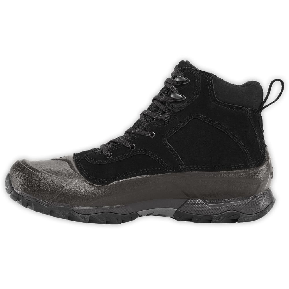 THE NORTH FACE Men's Snowfuse Mid Waterproof Winter Boots, TNF Black - BLACK