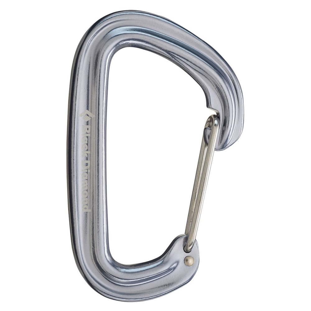 BLACK DIAMOND Neutrino Carabiner - GREY