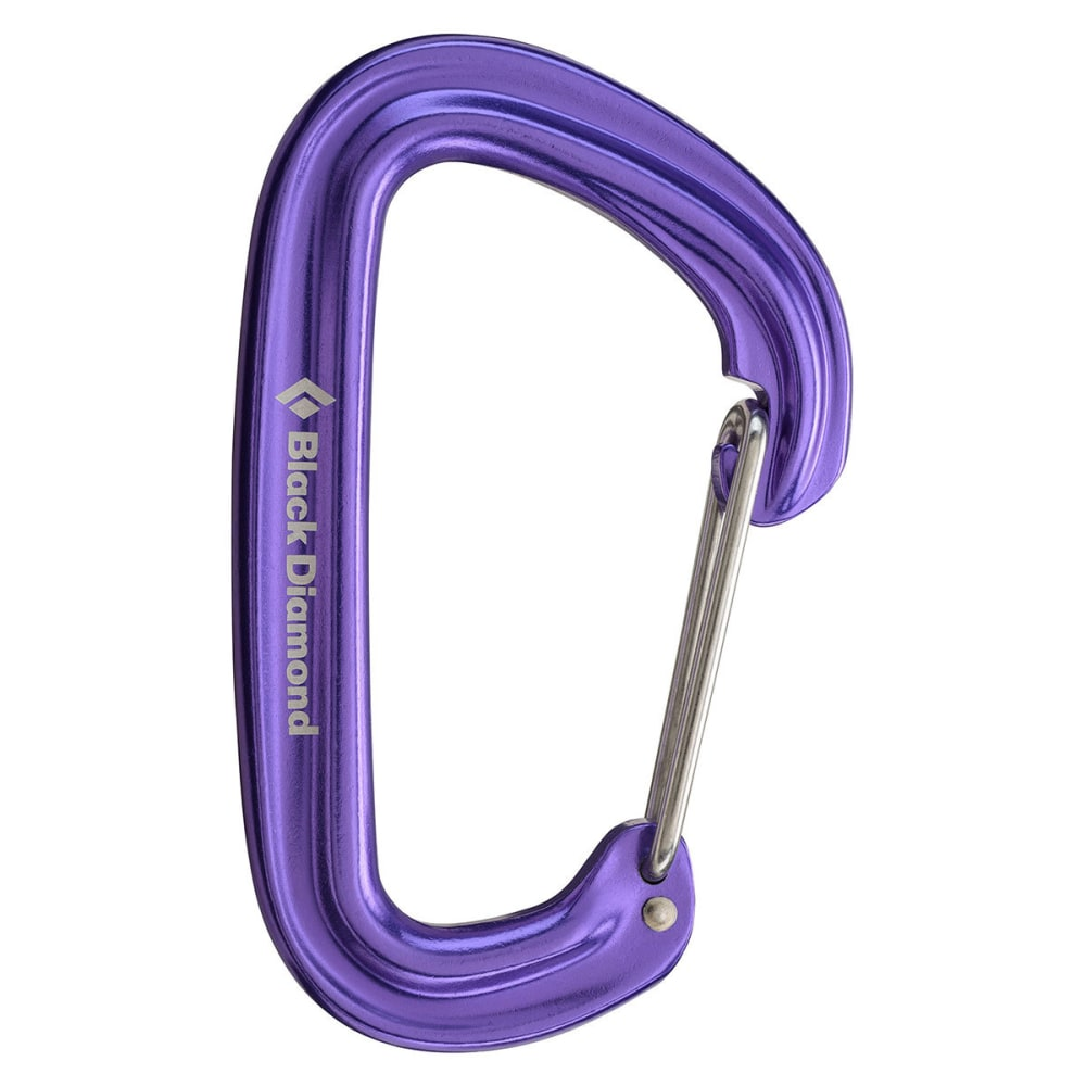 BLACK DIAMOND Neutrino Carabiner - PURPLE