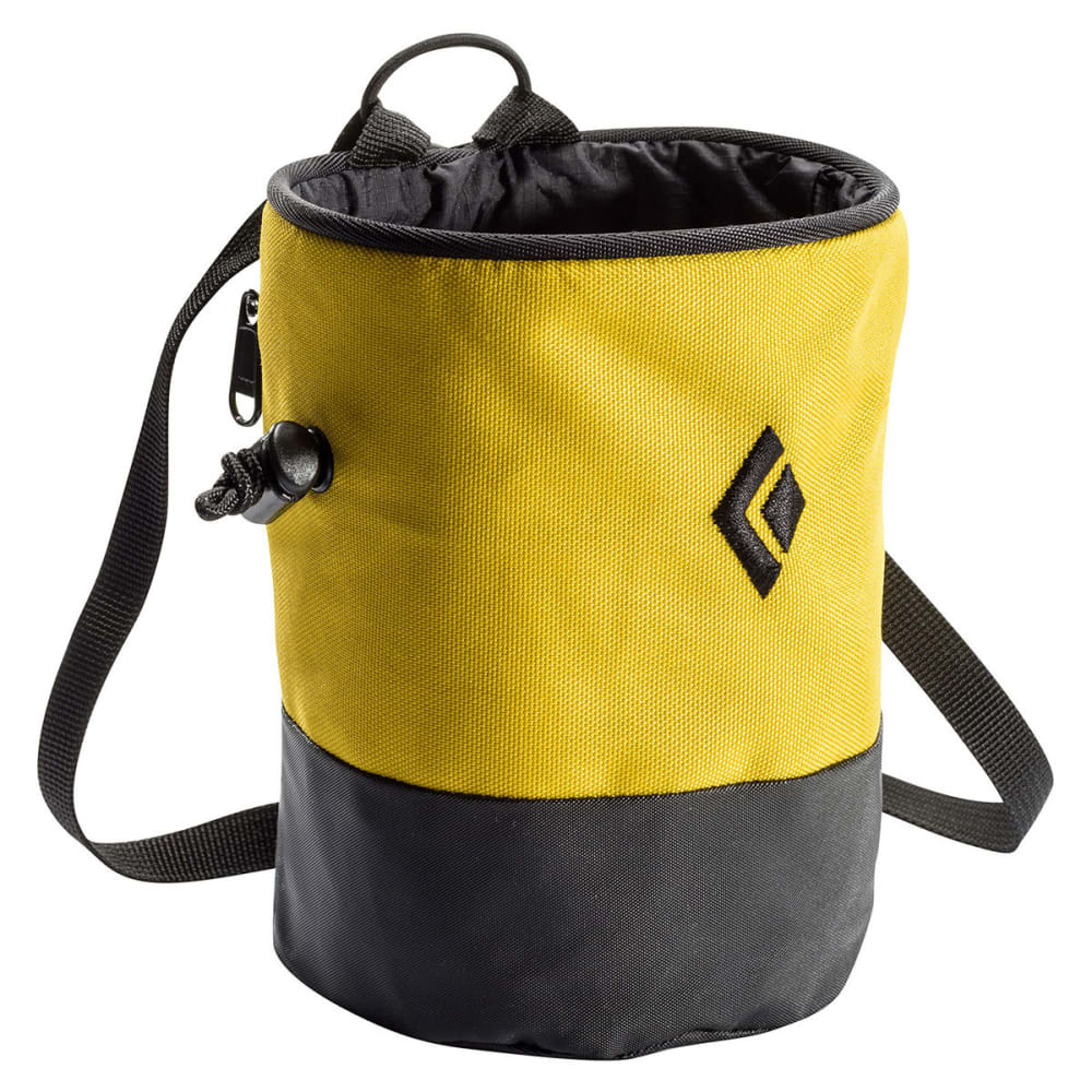 BLACK DIAMOND Mojo Zip Chalk Bag - OCHRE
