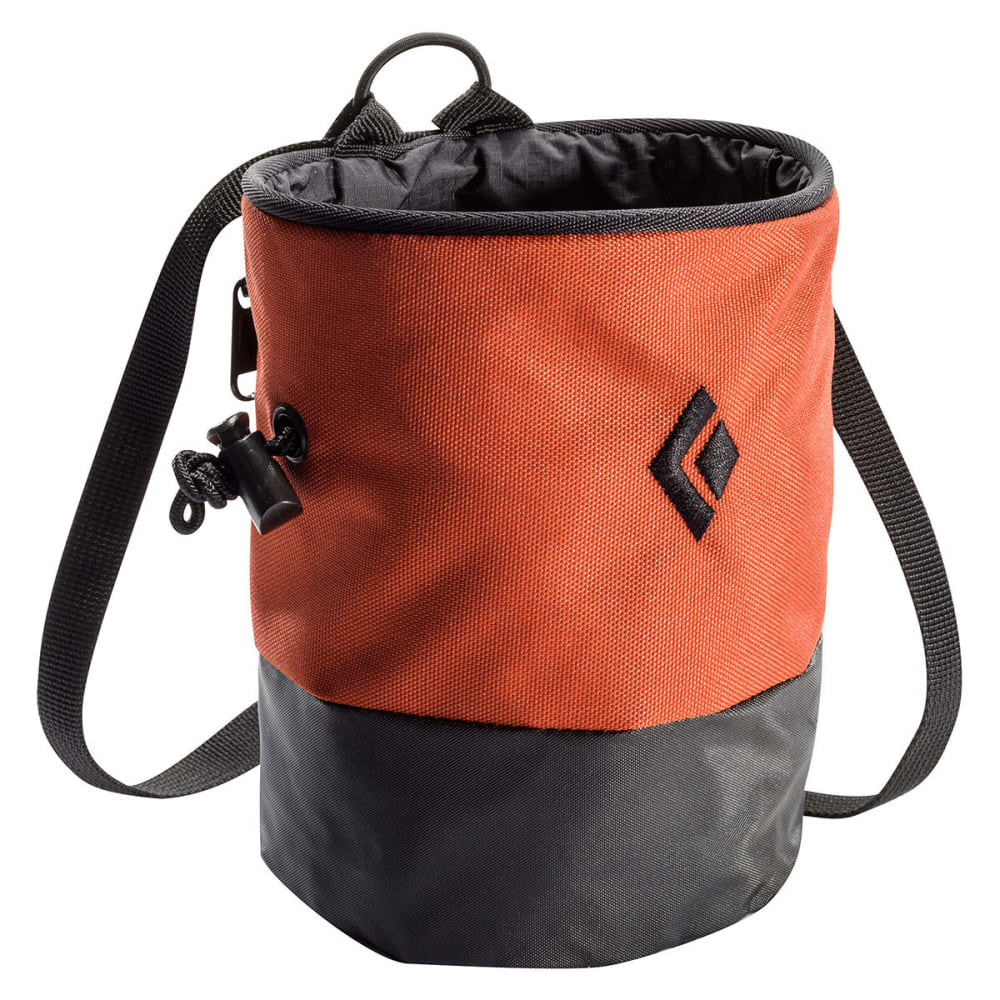 BLACK DIAMOND Mojo Zip Chalk Bag - RUST