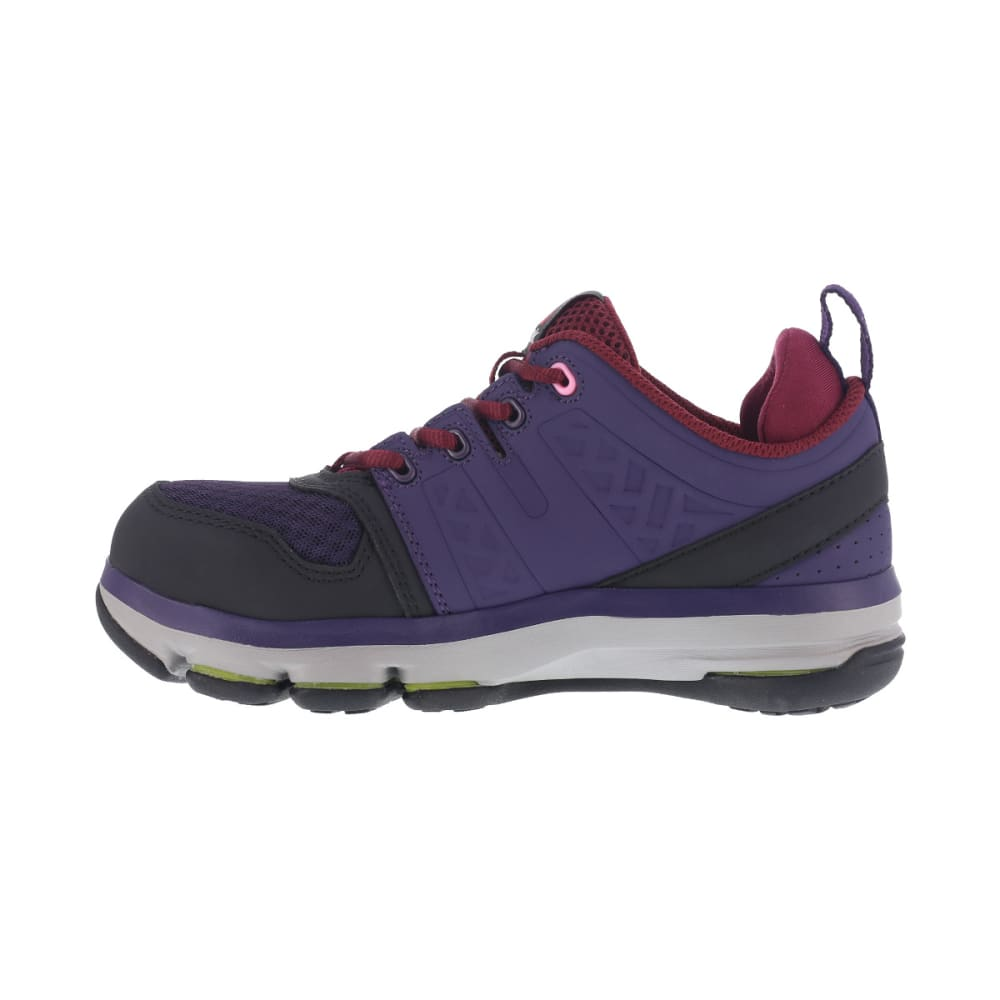 REEBOK WORK Women's DMX Flex Work Alloy Toe Work Shoes, Violet - VIOLET