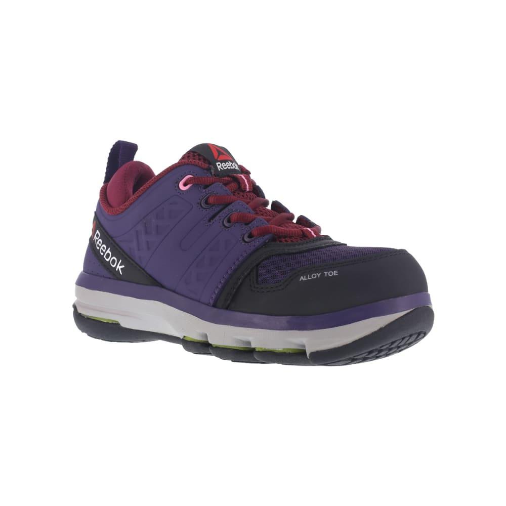 REEBOK WORK Women's DMX Flex Work Alloy Toe Work Shoes, Violet - VIOLET