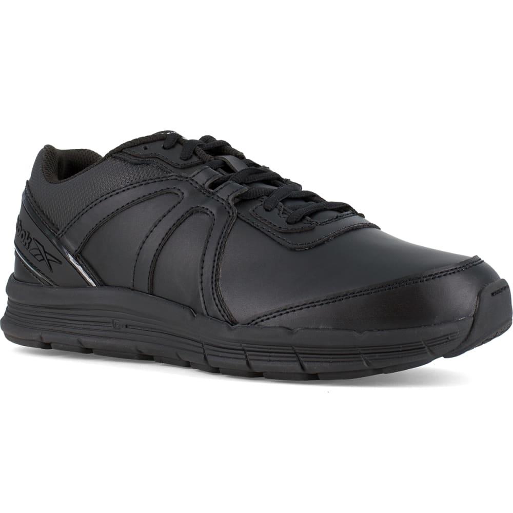 REEBOK WORK Men's Guide Work Soft Toe Work Shoes, Black 7.5