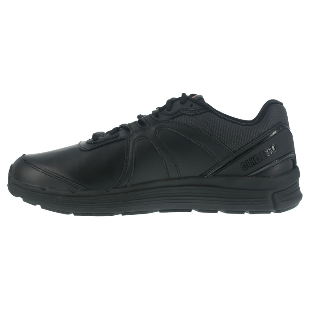REEBOK WORK Men's Guide Work Soft Toe Work Shoes, Black, Wide - BLACK