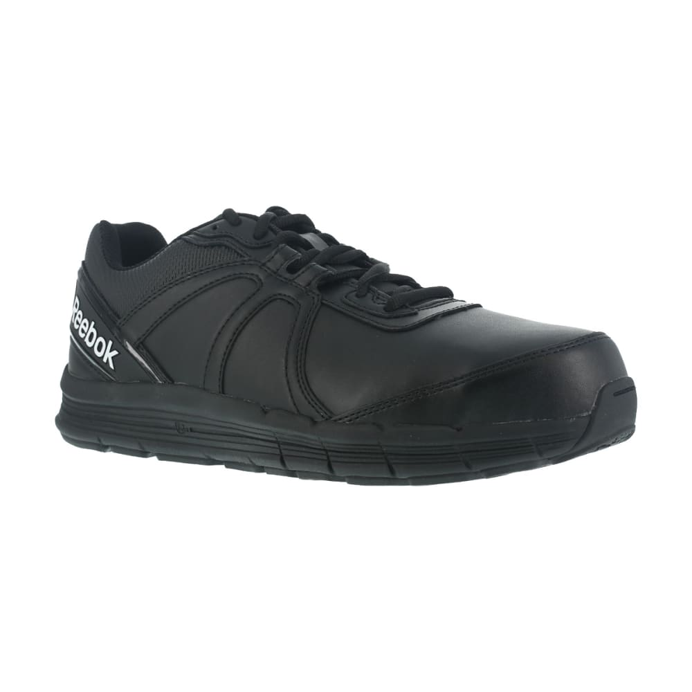 REEBOK WORK Men's Guide Work Steel Toe Work Shoes, Black 8.5