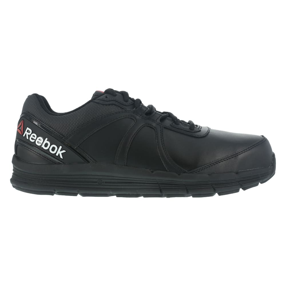 REEBOK WORK Men's Guide Work Steel Toe Work Shoes, Black, Wide - BLACK