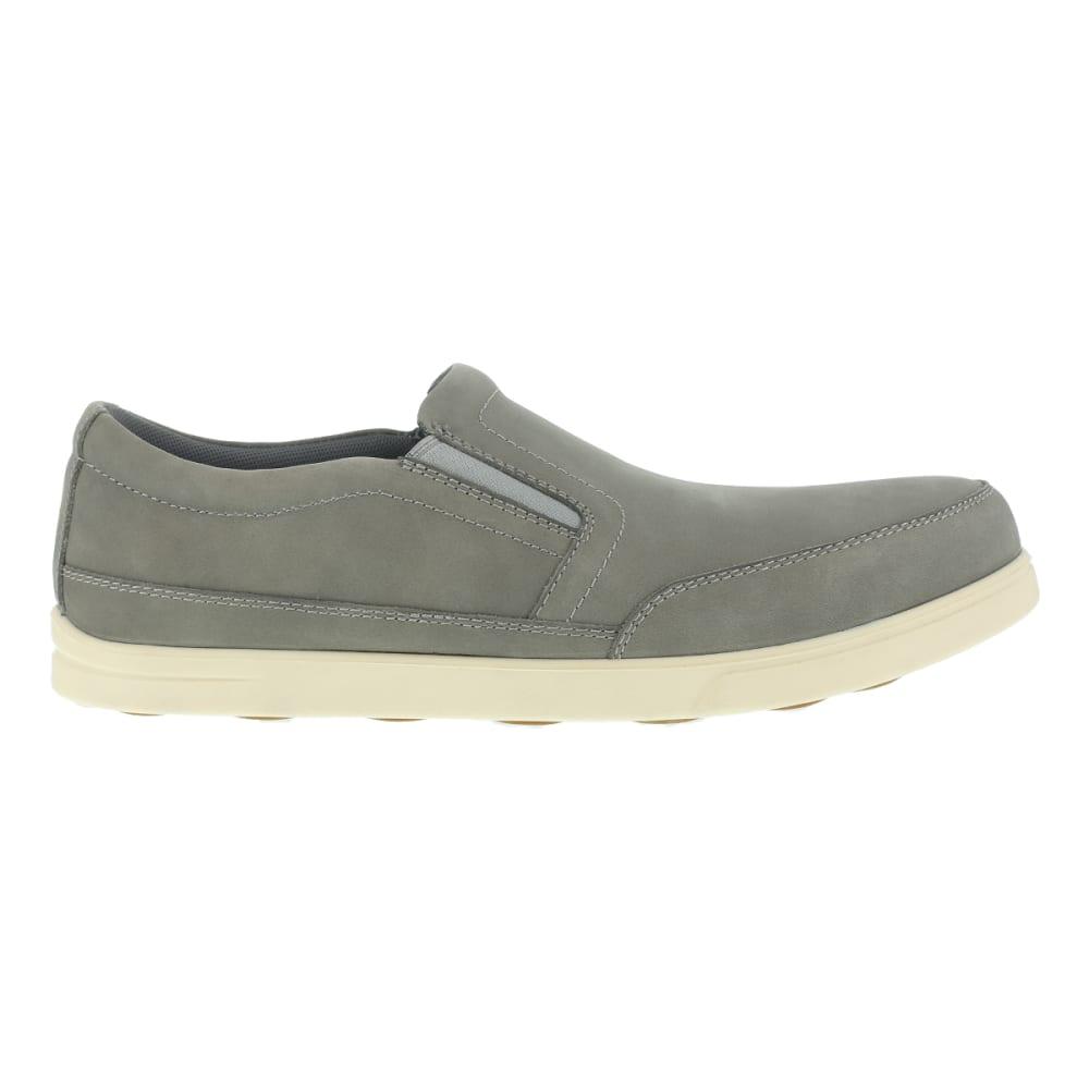 FLORSHEIM WORK Men's Stoss Steel Toe Oxford Work Shoes, Taupe/ Bone White, Wide - TAUPE/BONE WHITE