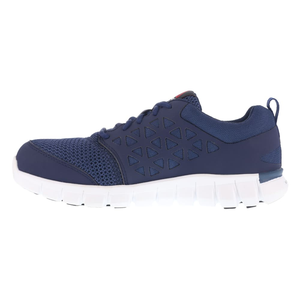 REEBOK WORK Men's Sublite Cushion Work Alloy Toe Work Shoes, Navy - NAVY