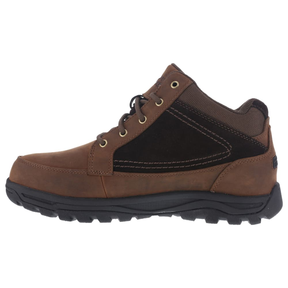 ROCKPORT WORKS Men's Trail Technique Steel Toe Trail Hiker Boots, Brown, Wide - BROWN