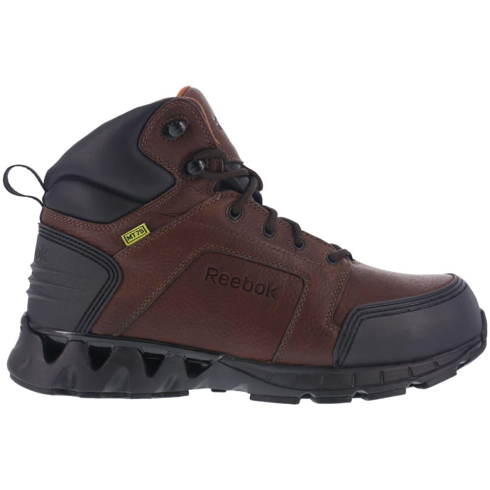 REEBOK WORK Men's Zigkick Carbon Toe Hiking Boots, Dark Brown - DARK BROWN