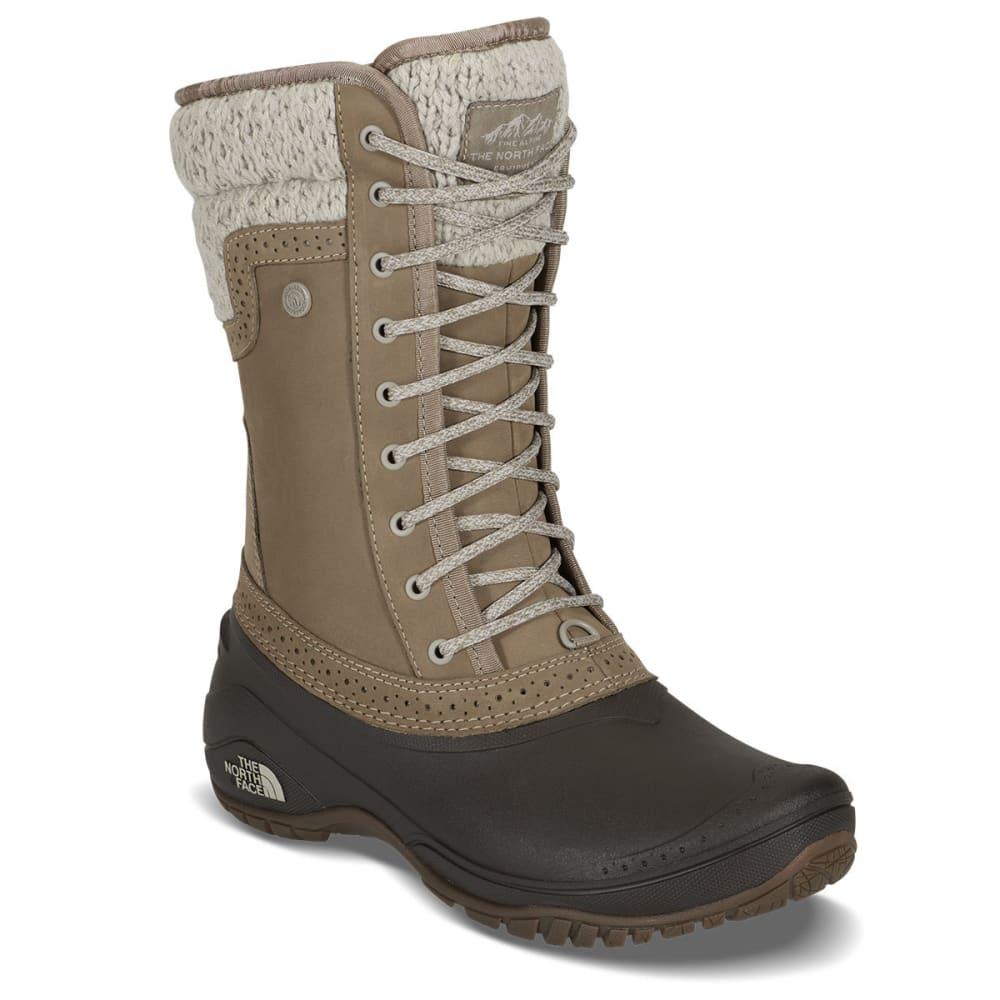 THE NORTH FACE Women's Shellista II Mid Waterproof Boots, Tarmac Green/Tapenade Green 6