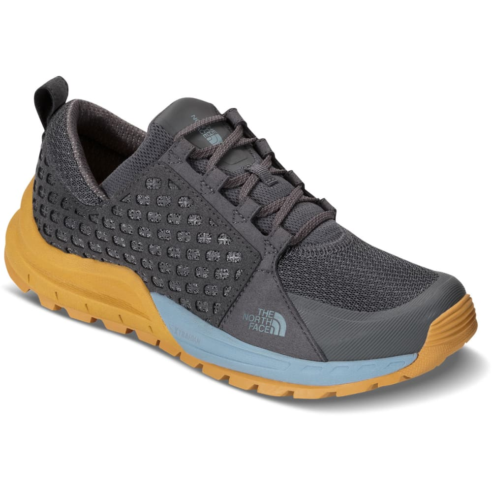 THE NORTH FACE Women's Mountain Sneaker Shoes, Zinc Grey/Tour Blue - ZINC GRY/TOUR BLUE