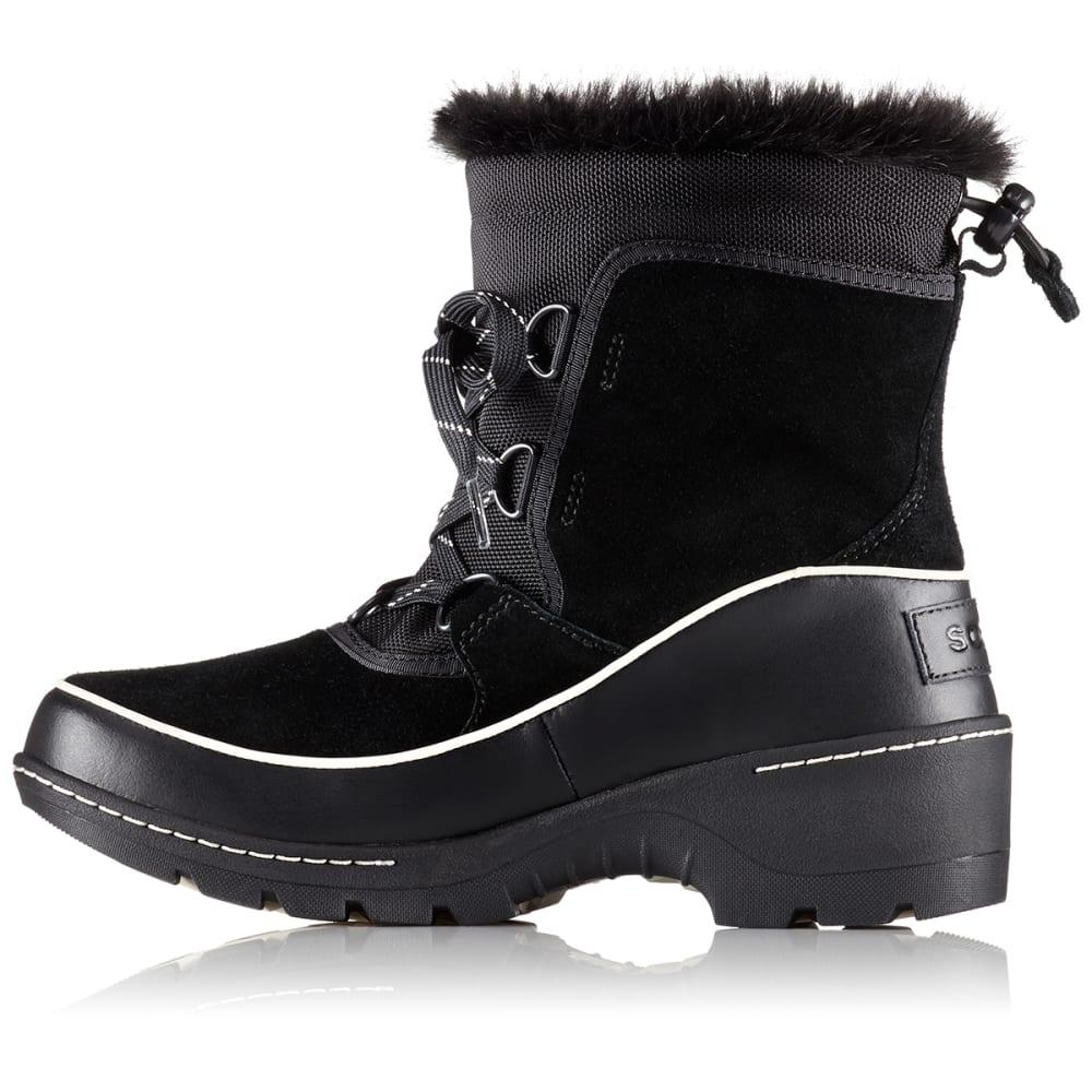 SOREL Women's 8 in. Tivoli III Waterproof Boots, Black/Light Bisque - BLACK/LIGHT BISQUE