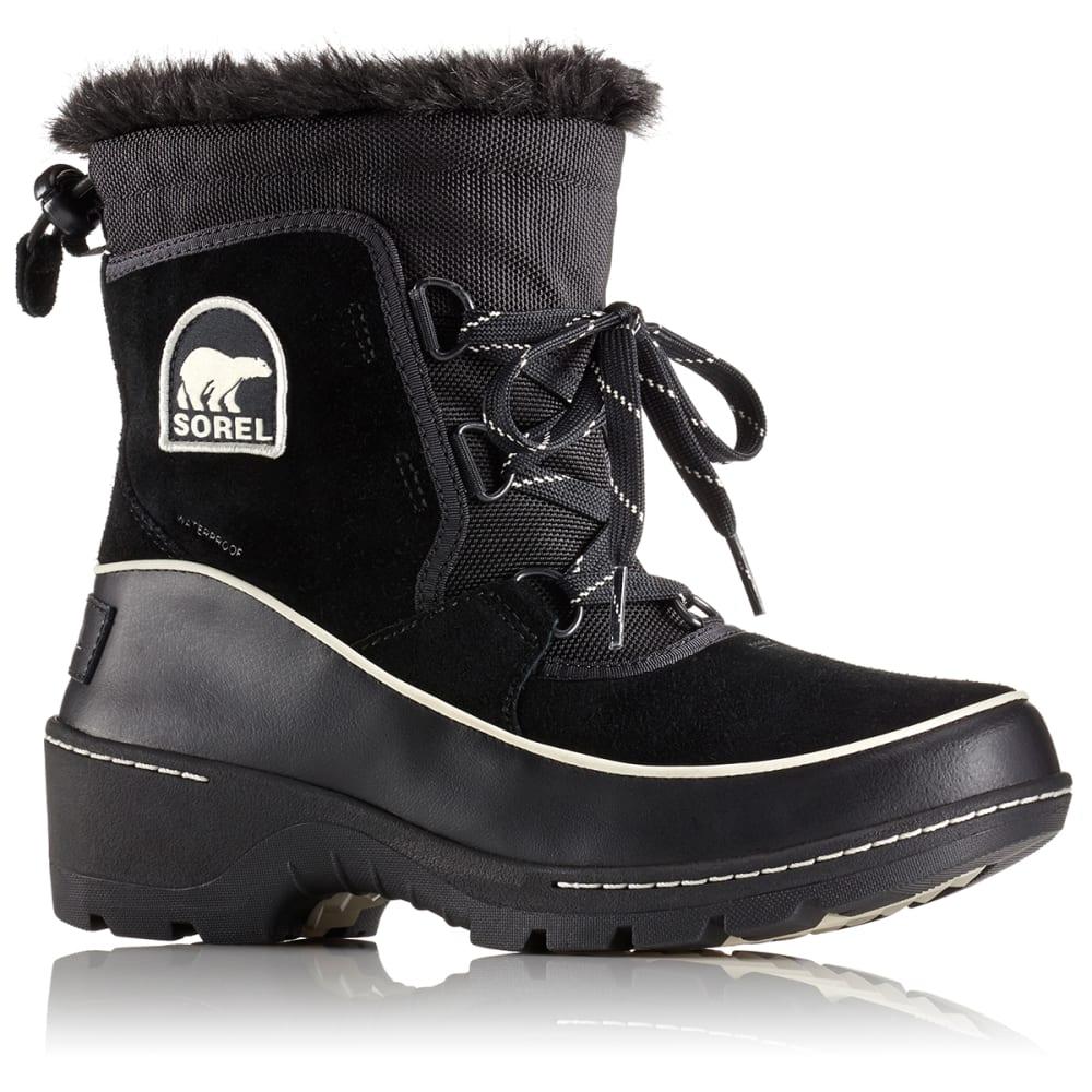 SOREL Women's 8 in. Tivoli™ III Waterproof Boots, Black/Light Bisque - BLACK/LIGHT BISQUE