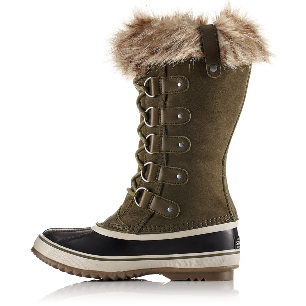SOREL Women's 12 in. Joan of Arctic Waterproof Boots, Nori/Dark Stone - NORI/DARK STONE