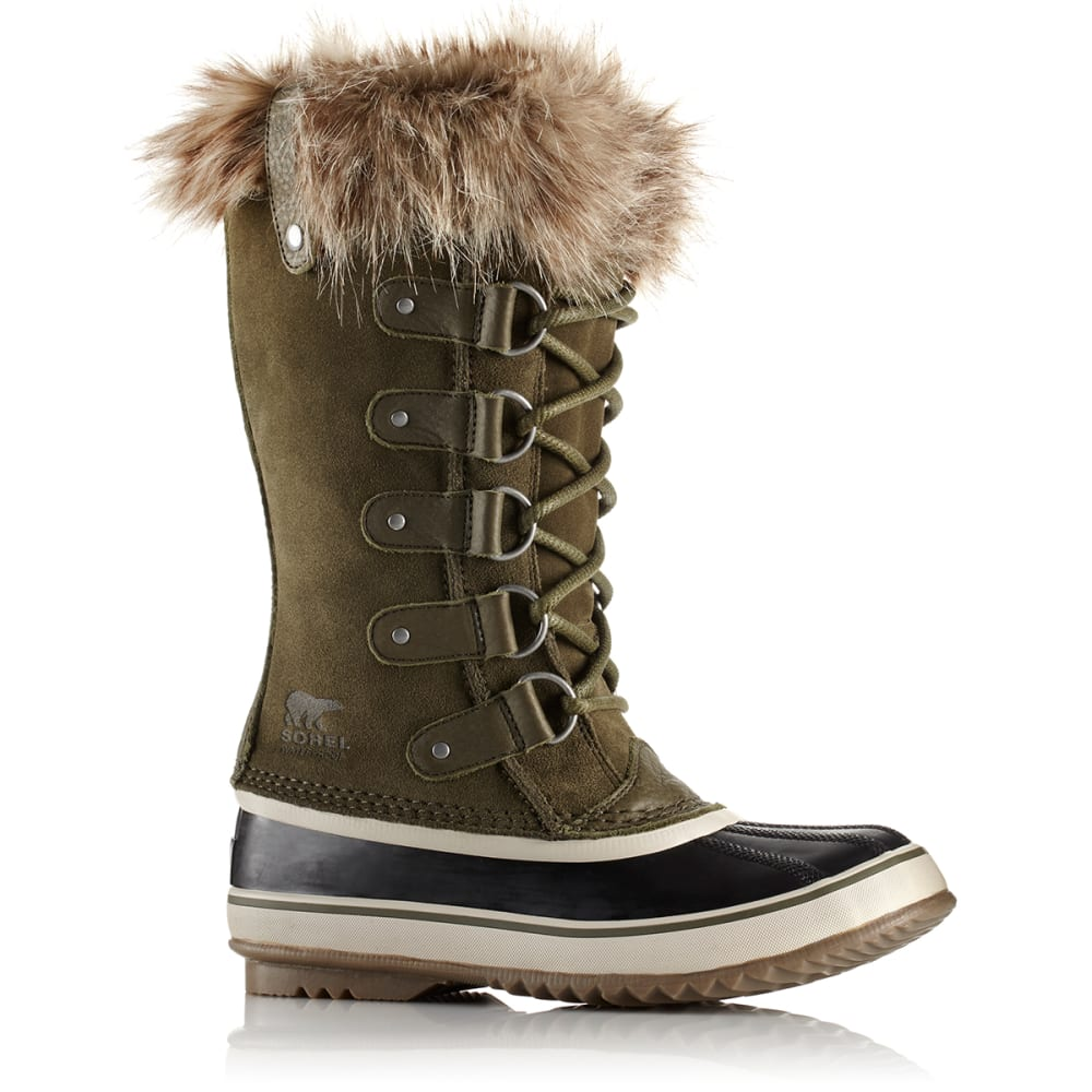 SOREL Women's 12 in. Joan of Arctic Waterproof Boots, Nori/Dark Stone - NORI/DARK STONE