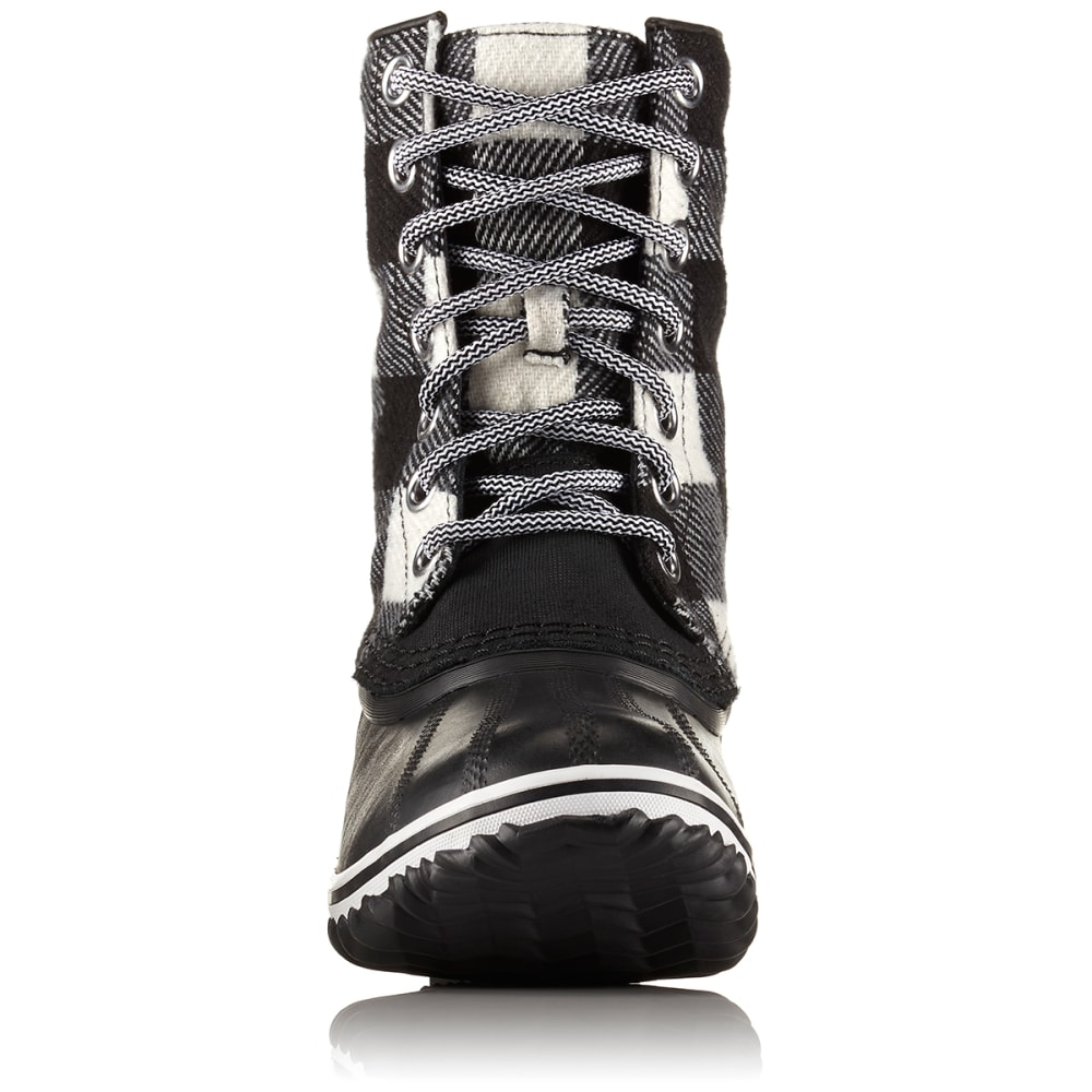 SOREL Women's 7 in. Slimpack™ 1964 Waterproof Rain Boots, Black/White - BLACK/WHITE