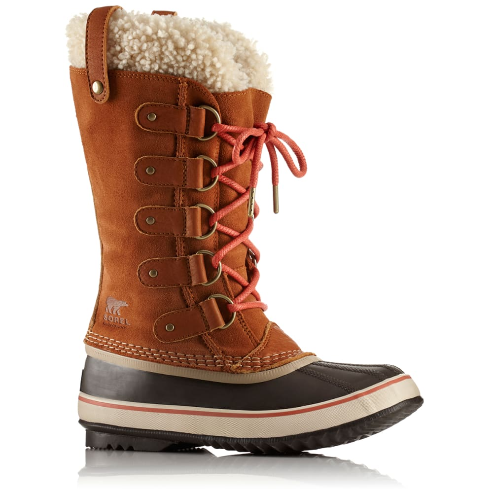SOREL Women's 12 in. Joan of Arctic Shearling Waterproof Boots, Caramel/Nectar - CARAMEL/NECTOR