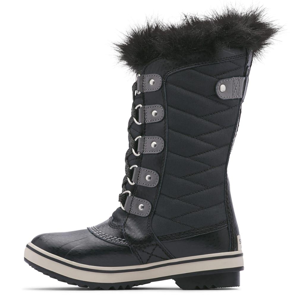 SOREL Girls' Tofino II Waterproof Winter Boots, Black/Quarry - BLACK