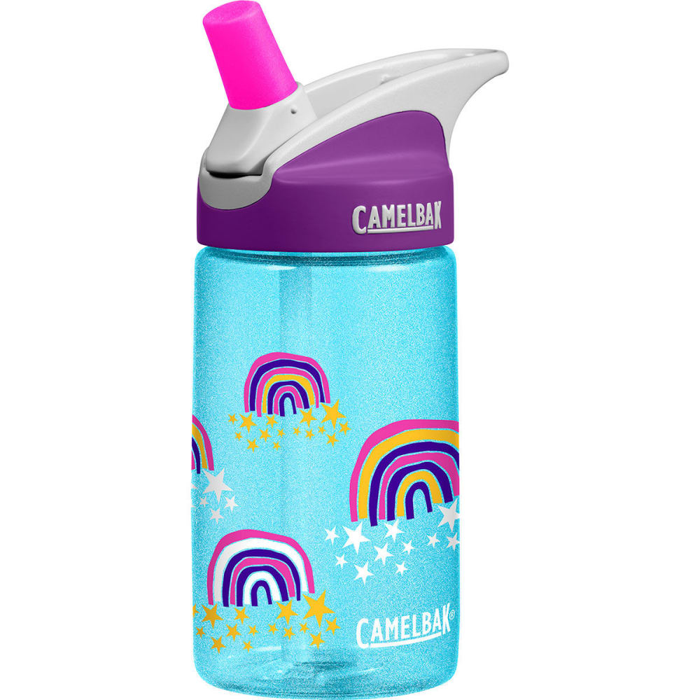 CAMELBAK Kids' 0.4L Eddy Water Bottle - GLITTER RAINBOWS