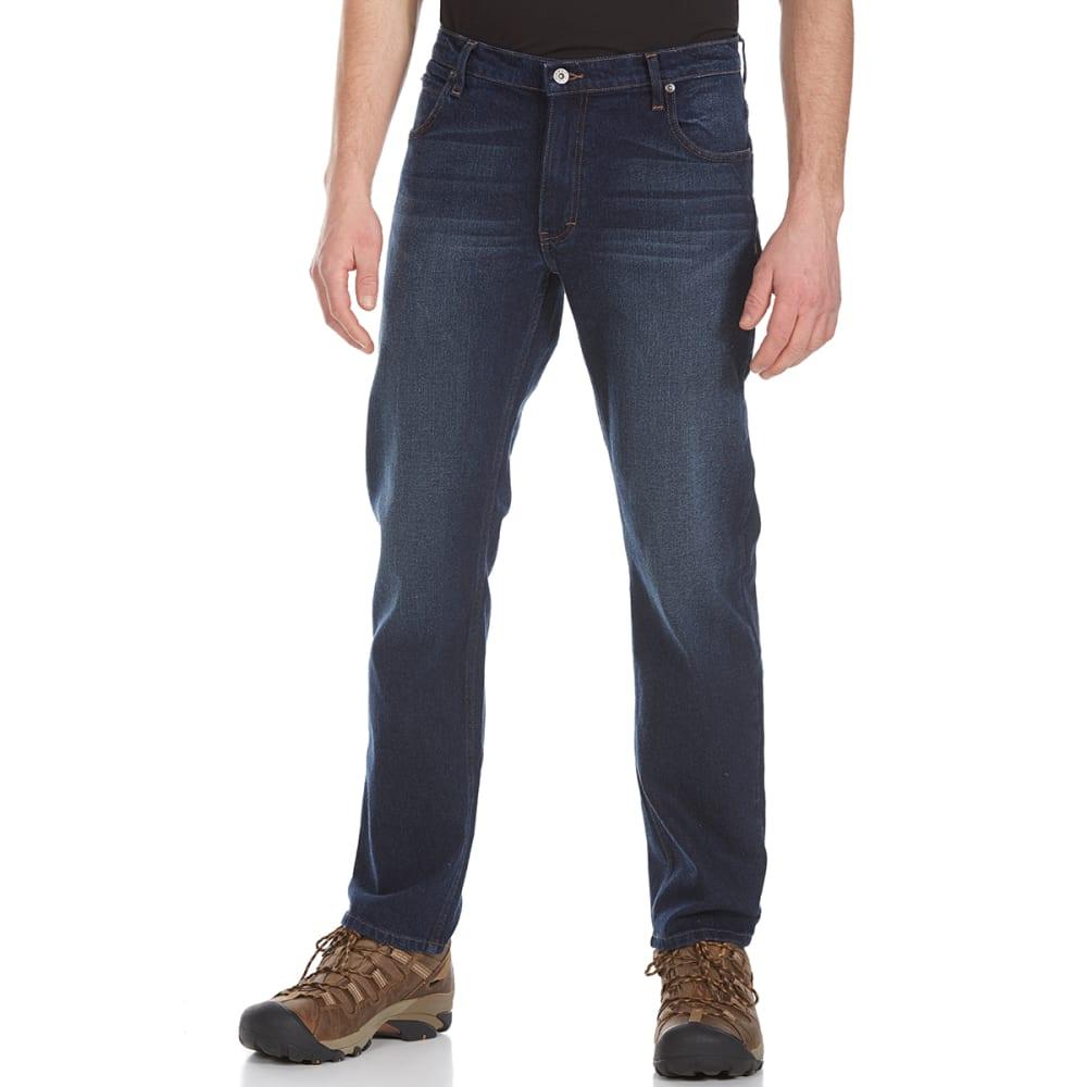 DICKIES Men's Flex Athletic Fit Straight Leg 5-Pocket Jeans - DSI DARK WASH  INDIG