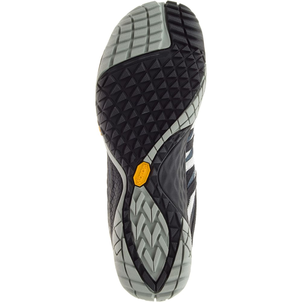 MERRELL Women's Trail Glove 4 Trail Running Shoes, Black - BLACK