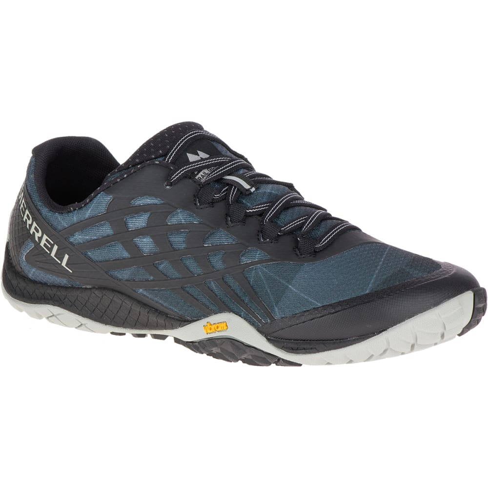 MERRELL Women's Trail Glove 4 Trail Running Shoes, Black 8